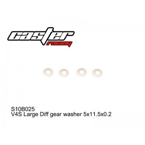 S10B025  V4S Large Diff gear washer 5x11.5x0.2