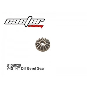 S10B026  V4S 14T Diff Bevel Gear