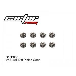S10B030  V4S 10T Diff Pinion Gear