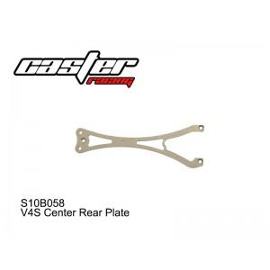 S10B058  V4S Center Rear Plate