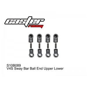 S10B089  V4S Sway Bar Ball End Upper Lower