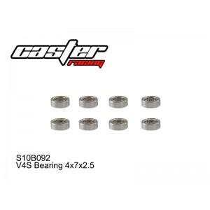 S10B092  V4S Bearing 4x7x2.5