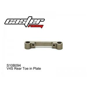 S10B094  V4S Rear Toe in Plate