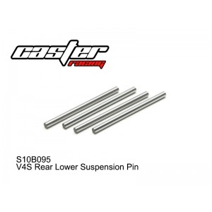 S10B095  V4S Rear Lower Suspension Pin