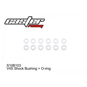S10B103  V4S Shock Bushing + O-ring