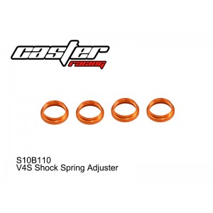 S10B110  V4S Shock Spring Adjuster
