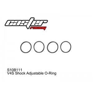 S10B111  V4S Shock Adjustable O-Ring