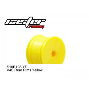 S10B128-YE  V4S Rear Rims Yellow