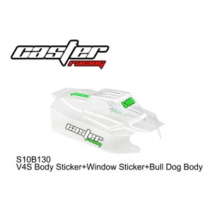 S10B130  V4S Body Sticker+Window Sticker+Bull Dog Body