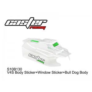 S10B130  V4S Body Sticker+Window Sticker+Bull Dog Body