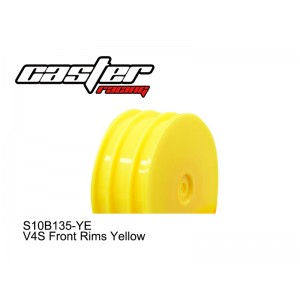 S10B135-YE  V4S Front Rims Yellow