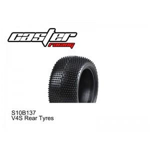 S10B137  V4S Rear Tyres 2PCS