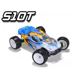 S10T RTR004 EP Off Road Truggy 4WD Brushed RTR W/OBattery&Charger