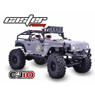 CJ10-16-RTR Caster 1/10 Jeep Rock Rocket - Brushed Power