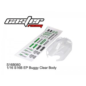 S16B060 1/16 S16B EP Buggy Clear Body
