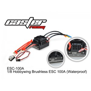 ESC-100A 1/8 Hobbywing Brushless ESC 100A (Waterproof)