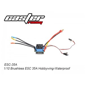 ESC-35A 1/10 Brushless ESC 35A Hobbywing-Waterproof