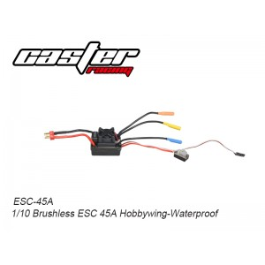 ESC-45A 1/10 Brushless ESC 45A Hobbywing-Waterproof