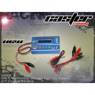 506CR  SBEY Multifuction Charger For Lipo Battery(EP Cars) w/Balance