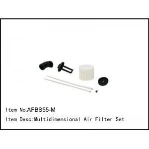 AFBS55-M  Multidimensional Air Filter Set
