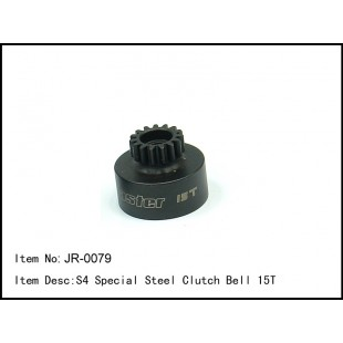 JR-0079  S4 Special Steel Clutch Bell 15T