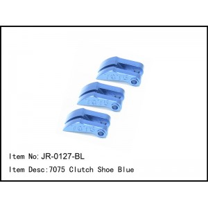 JR-0127-BL  7075 Clutch Shoe Blue