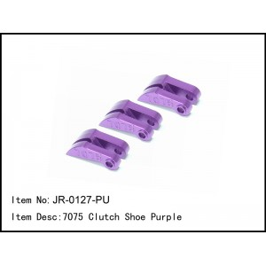 JR-0127-PU  7075 Clutch Shoe Purple