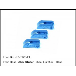 JR-0128-BL  7075 Clutch Shoe Lighter  Blue