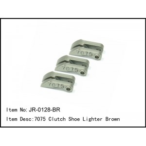 JR-0128-BR  7075 Clutch Shoe Lighter Brown