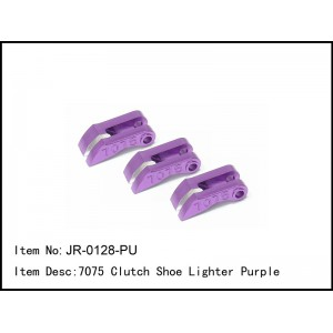 JR-0128-PU  7075 Clutch Shoe Lighter Purple