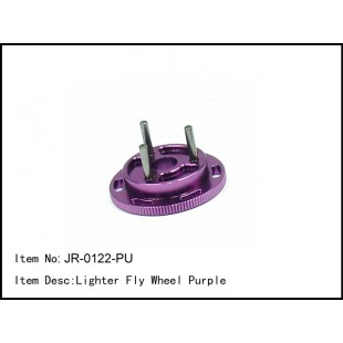 JR-0122-PU  Lighter Fly Wheel Purple