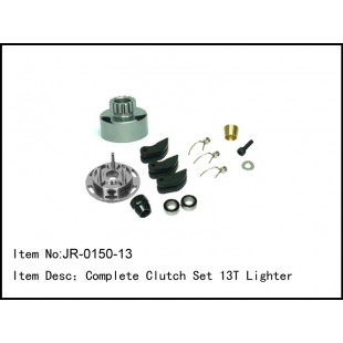 JR-0150-13  Complete Clutch Set 13T Lighter