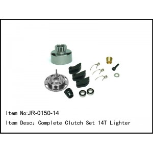 JR-0150-14  Complete Clutch Set 14T Lighter