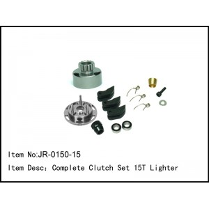 JR-0150-15  Complete Clutch Set 15T Lighter