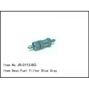 JR-0113-BG  Fuel Filter Blue Gray