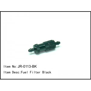 JR-0113-BK  Fuel Filter Black