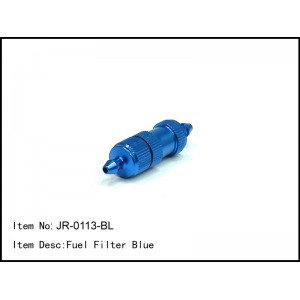 JR-0113-BL  Fuel Filter Blue