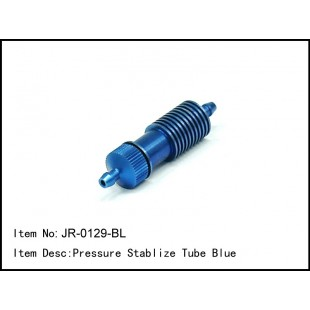 JR-0129-BL  Pressure Stabilize Tube Blue