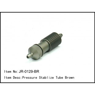 JR-0129-BR  Pressure Stabilize Tube Brown