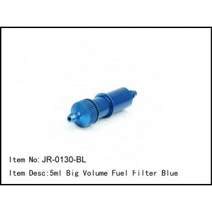 JR-0130-BL  5ml Big Volume Fuel Filter Blue