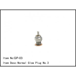 GP-03  Normal Glow Plug No.3