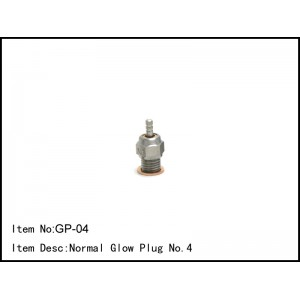 GP-04 Normal Glow Plug No.4
