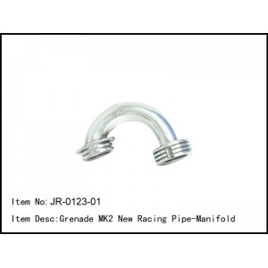 JR-0123-01  Grenade MK2 New Racing Pipe-Manifold
