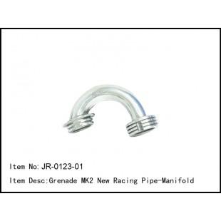 JR-0123-01  Grenade MK2 New Racing Pipe-Manifold