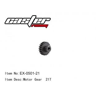 EX-0501-21 Motor  Gear 21T