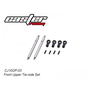 CJ10OP-03  Front Upper Tie-rods Set