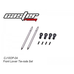 CJ10OP-04  Front Lower Tie-rods Set