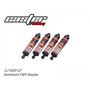 CJ10OP-27  Aluminium F&R Shocks