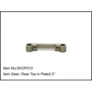 SKOP010  Rear Toe in Plate2.5°