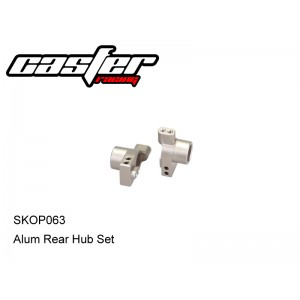SKOP063 Alum Rear Hub Set